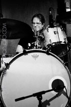 dave schoepke behind the drums